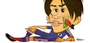 サッカー日本代表 内田篤人選手