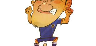 サッカー日本代表 岡崎慎司選手